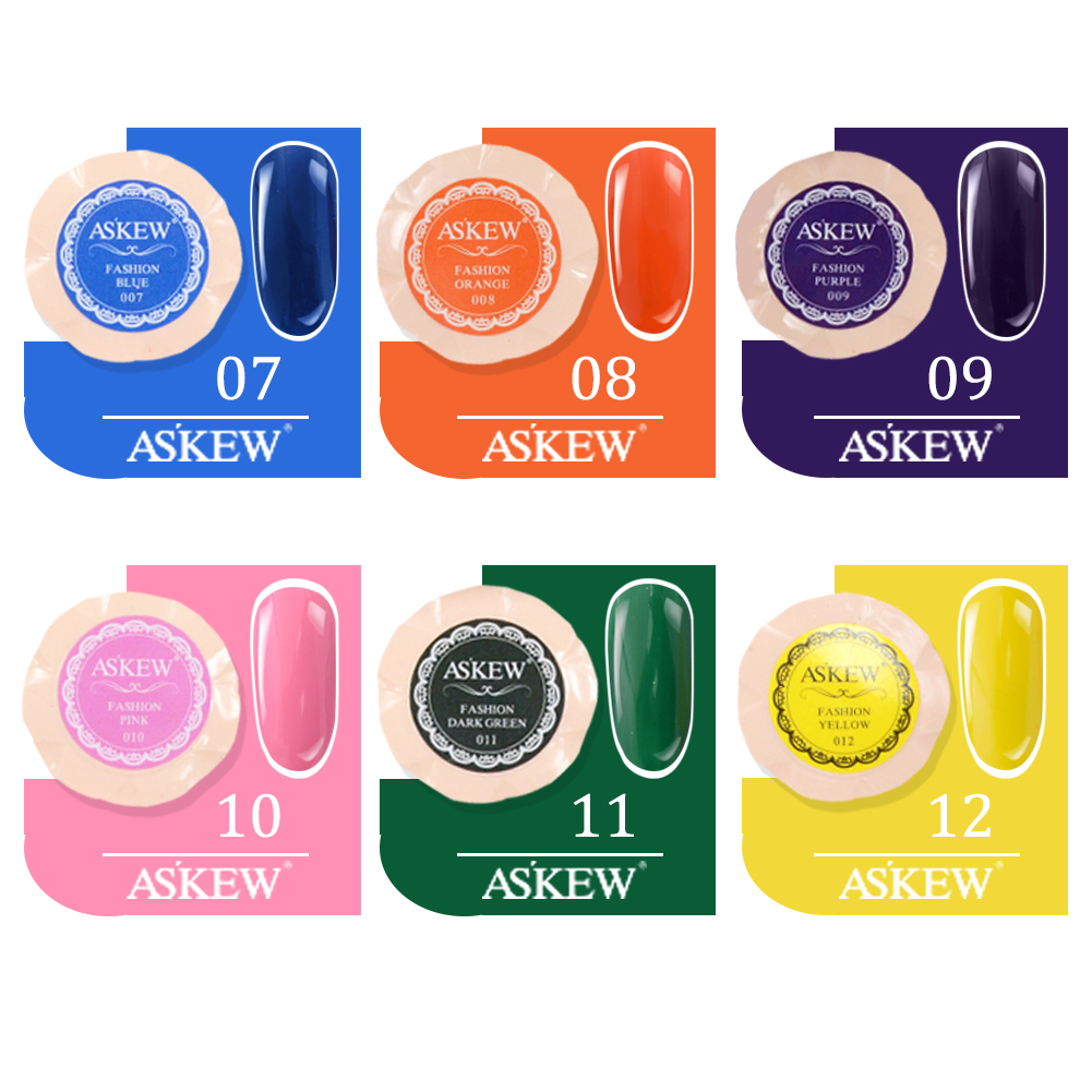 Pure Colors UV LED Nail Painting Gel Color for Finger Nail