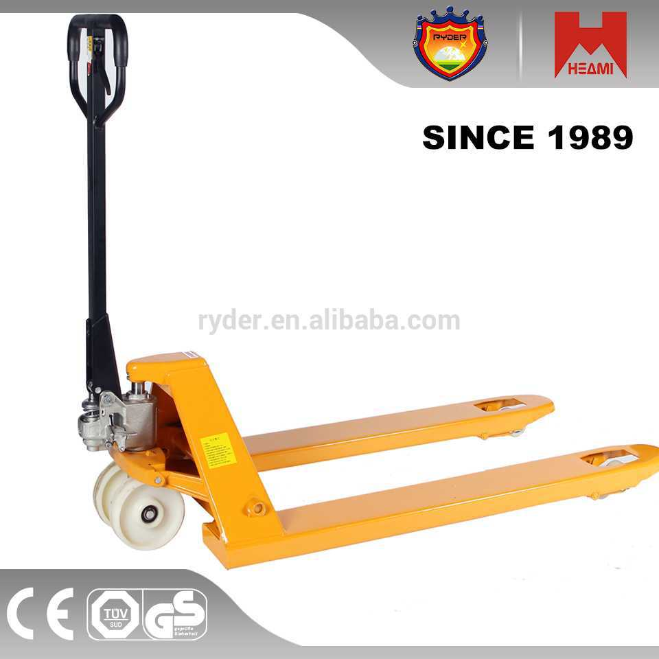 hydraulic pump hand pallet truck electric locomotive battery pallet truck charger with scale opl