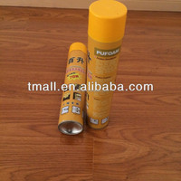 750ML Spray Polyurethane Foam , Urethane Foam For Filling All Kinds of Gaps & Construction Cracks