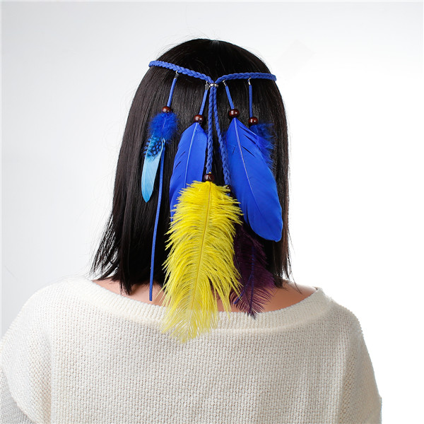Fashion Style Hair Band Leather Head Band Hair Accessory For Women