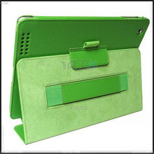 Thermal Styling Stand Leather Case Cover with Card Slots and Stylus Slots for Apple iPad 2/3/4 P-iPAD3CASE063
