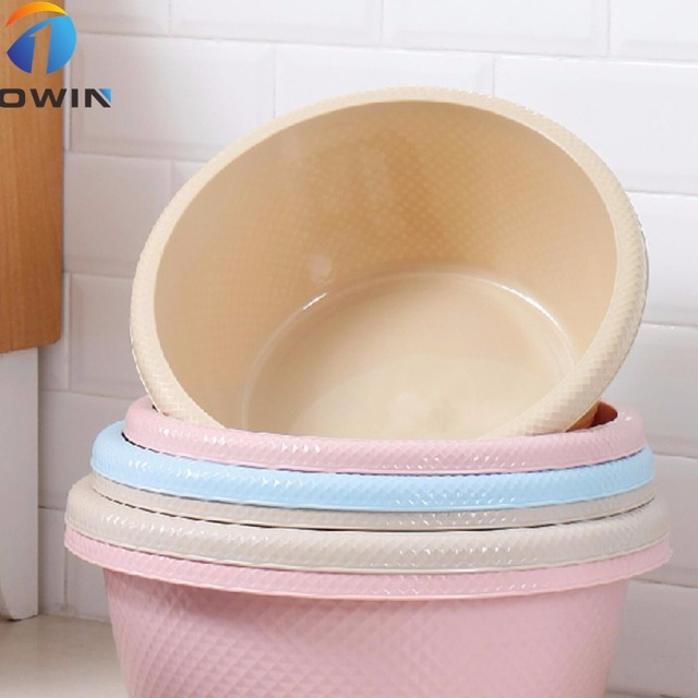 21 Liter Crystal plastic wash basin