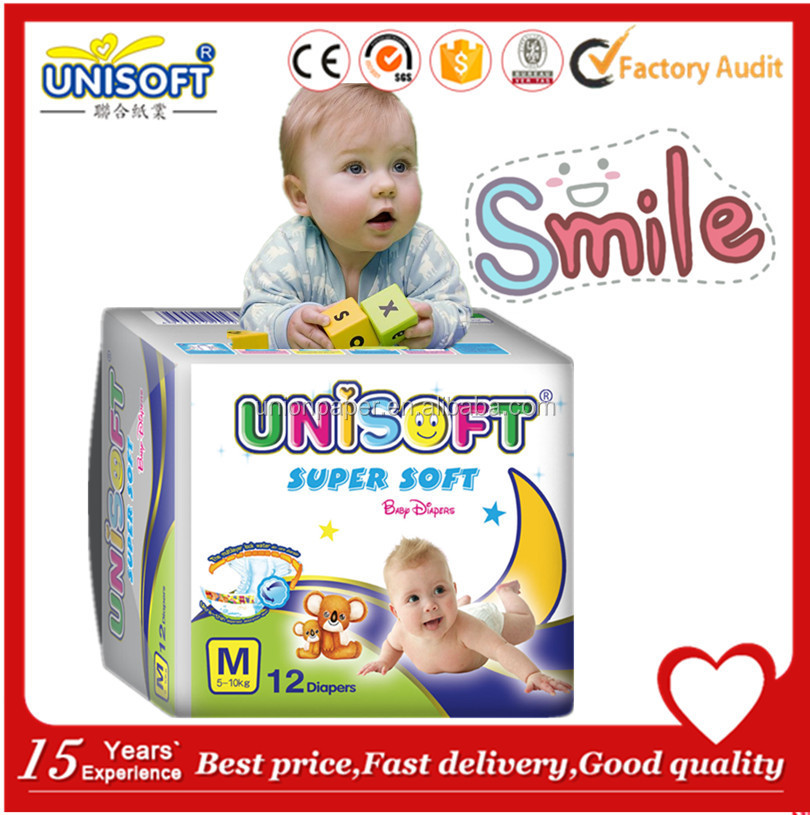 2015 NO.A98 new China Wholesale Baby Products Cheap unisoft Disposable Sleepy BABY DIAPER