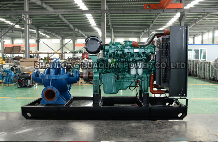 synchronous generator high efficiency water pump unit