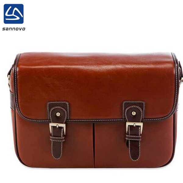 wholesale high quality vintage dslr camera bag leather for unisex