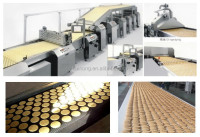 KH 250 the newest full automatic small biscuit making machine / mini biscuit machine/ biscuit machinery