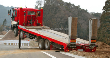 HOWO self loader truck