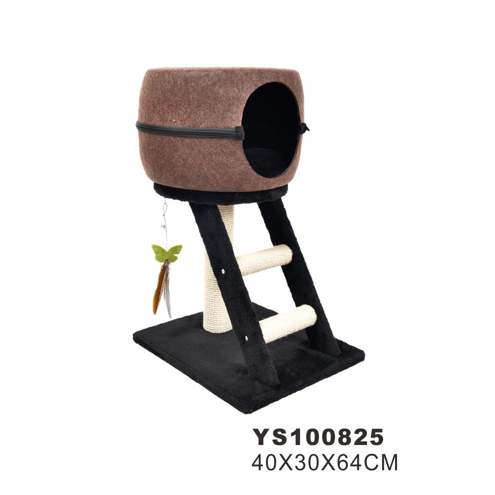 wholesale hot selling eco-friendly material wood cat tree