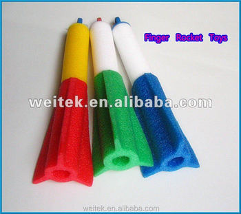 China Top Ten Hot Selling Products EPE & EVA Foam Finger Rocket