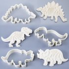 Dinosaur Fossil Cookie Cutters Making Molds Stamps Set of 3 SW-BA1