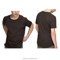 2017 new trand short sleeve cotton blank mens custom t shirt