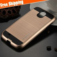 Hybrid Dual Layer Shockproof TPU + PC Protective Slim Fit Phone Case Cover For Samsung galaxy S4