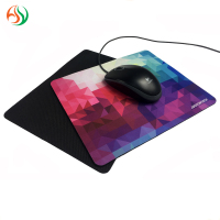 Wholesale Custom Shape OEM natural rubber foam Fabric ergonomic mousepad Personalised Free sample Mouse pad Mat With Logo Print