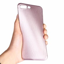 [X-Level] Neweset No Finger Print Light Ultra Thin Tenacity PP Wooden Cell Phone Case for iPhone 7 Plus