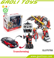 R/C Transforming Robot Car - One Button for transforming from Car to Robot in one motion