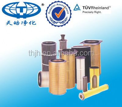 Stainless Steel Cartridge Filter For Gas Turbine Centrifugal Air Compressor