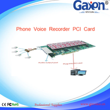 16 Line Analog Phone Voice Recorder PCI Card,Voice Recorder PCI Card ODM
