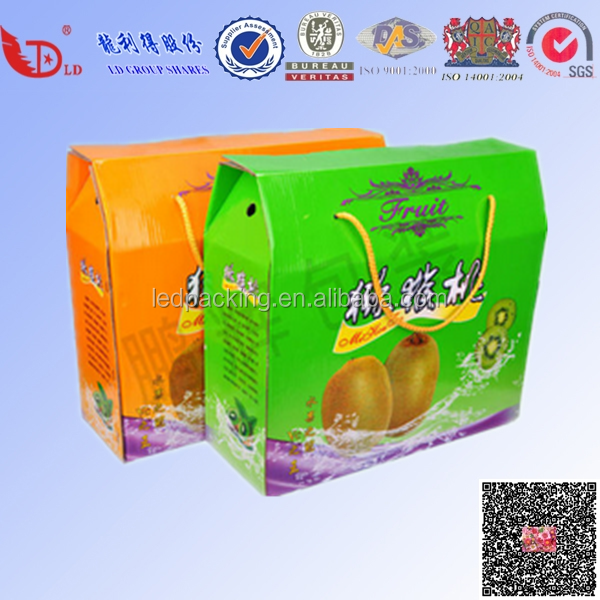 Apple fruit giftbox for super market fruit gift packaging retail unit packaging for pear,date,nuts,dried fruit