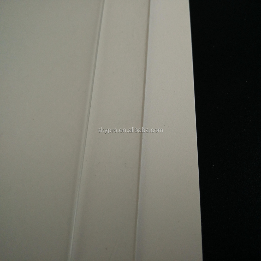 3mm Thick transparent matt clear translucent rigid PVC PP PET sheet
