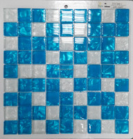 Crystal glass square mosaic new design(PM3001)