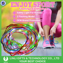 Led Light Up Shoe Laces Nylon Material Led Shoelaces Light , Crazy Led Glow Shoelaces