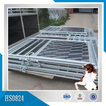 Galvanized Horse Stable With Roof