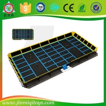 commercial jumping trampoline,professional olympic sport trampoline for jumping,square trampoline mat