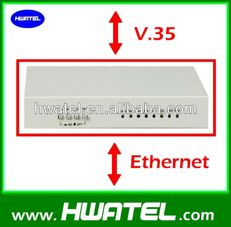 V 35 to ethernet protocol converter