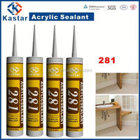 water based tubes acrylic adhesives sealants with anti-fungal agent