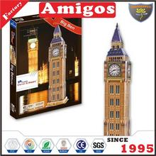 Guanghongyi educational toy puzzle Big Ben UK 47 pcs new toy jigsaw Puzzle