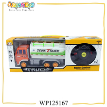 toluene freely 4ch rc truck car gravity sensor garbage truck toy gas rc trucks for sale