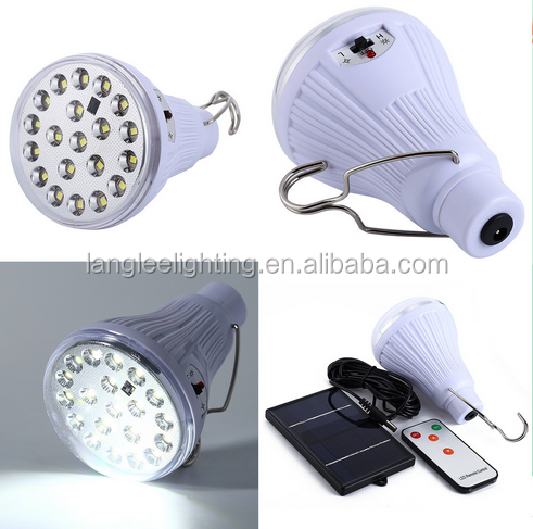 Solar emergency lamp led 6v 1w 120lm