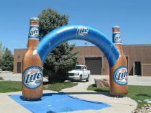 Cheap Promotion Finish Line Inflatable Arch (PLAD20-044)