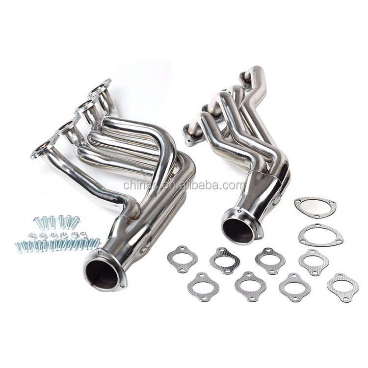 Professional Made High Perfoemance 304 Stainless Steel Exhaust Turbo Manifold Header Fit 1968-1972 Chevrolet Camaros Chevelles C