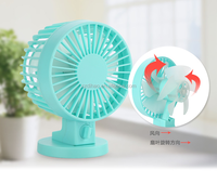 DIHAO mini table fan , China portable usb mini fan two Blade manufacturer & supplier & Factory