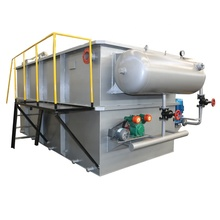 Dissolved Air Flotation Machine for Oil Refiners Wastewater Treatment with Field Installation