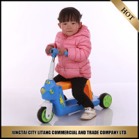 Wholesale china products mini reale seat scooter with three wheel for kids