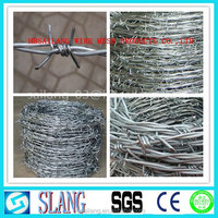 high qualityand the low price barbed wire/pvc barbed wire fence
