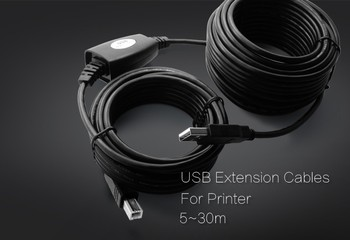20m usb2.0 extension cable printer usb cable