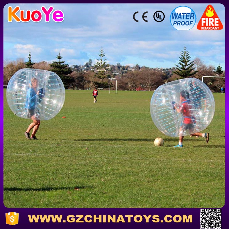 Popular human bubble inflatable bumper ball for kids and adults