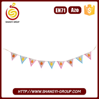 Hot New Product Easter Bunting Flag for home decoration