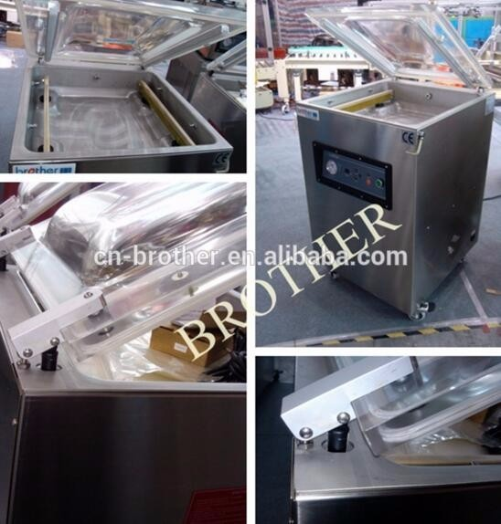 Automatic vacuum packager stainless steel 304 table model vacuum packager VM500TE