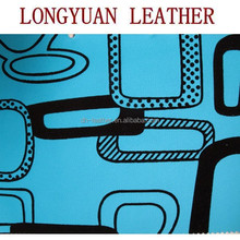 PU Leather Flocking Designs For Sofa