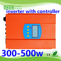 300w controller and inverter in one unit grid tie solar home system inverter 300w with 50a remove pwm controller
