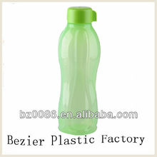 plastic bottle with logo of UV printing