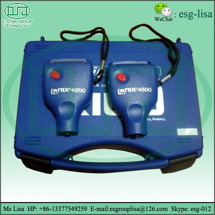 Industrial Paint Coating Thickness Gauge Qnix 4500 Thickness ...