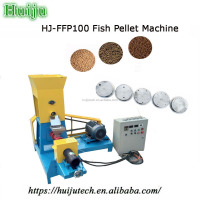 China advanced technology floating fish feed machine HJ-PHJ100 for sale