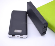 High capacity long lasting 20000mah power bank for smartphone with 4 usb ports