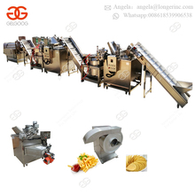 Hot Sale Fully Automatic Frozen Flakes Stick Sweet French Fries Making Machine Fresh Potato Crisp Potato Chips Machinery India