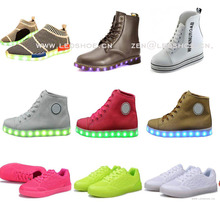 Super deals 2017 new trendy fashion led light up shoes 1 dollar